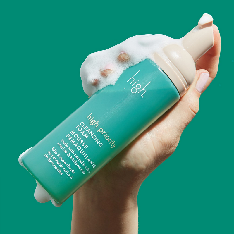 High Priority Cannabis Cleansing Foam