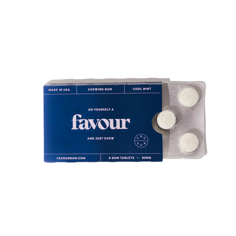 Favour CBD Gum Packet