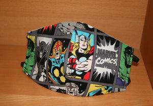 Marvel Heros - Face Mask Vogue