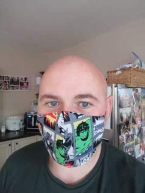 Superhero! - Face Mask Vogue