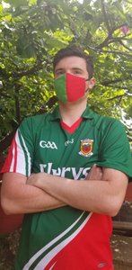 Mayo County Colours - Face Mask Vogue
