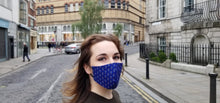 Load image into Gallery viewer, Royal Blue - Face Mask Vogue