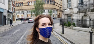 Royal Blue - Face Mask Vogue