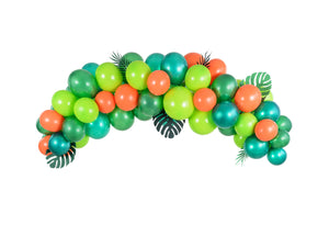 Tropical Green Balloon Garland