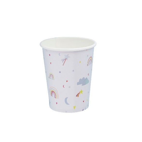 10 x Unicorn plates & cups