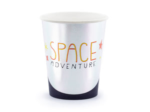 Space party themed cup.