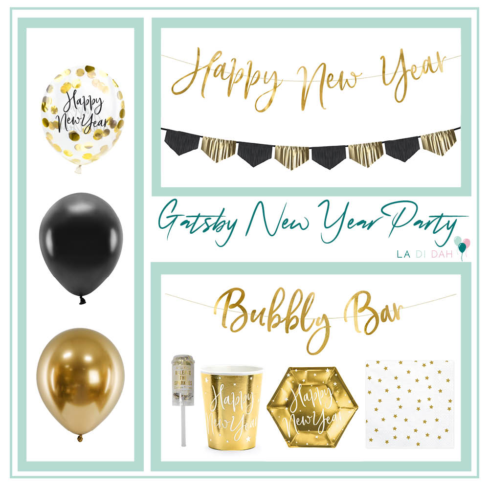 Gatsby New Year Party Box