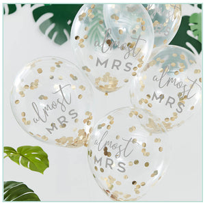 Bridal Shower Confetti Balloons