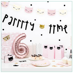 Cat Party Decorations Box