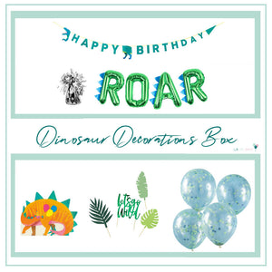 Dinosaur Party Decorations Box