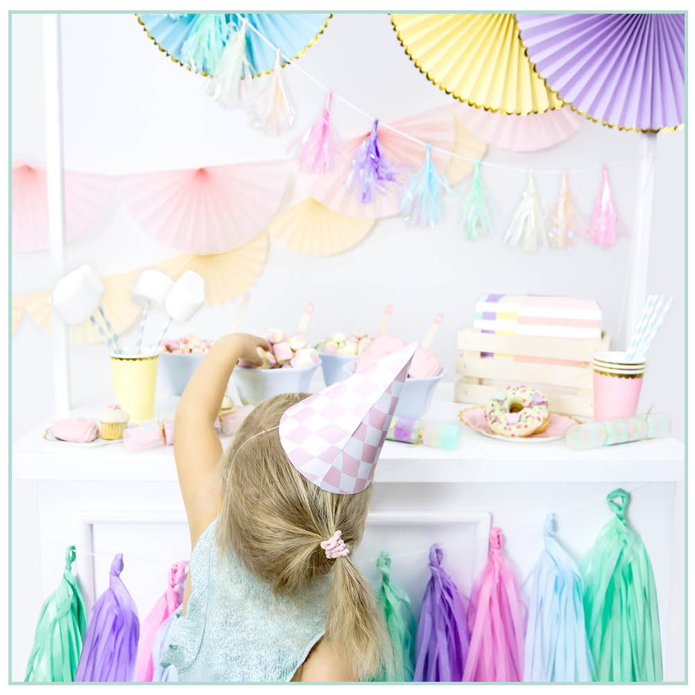 Pastel Party Decorations Box