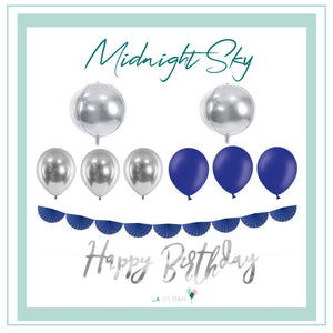 Midnight Sky Balloons Bundle