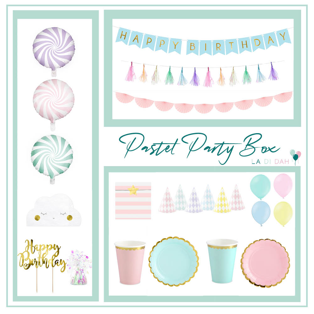 Pastel Party Box