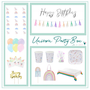 Unicorn Party Box