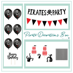 Pirate Party Decorations Box