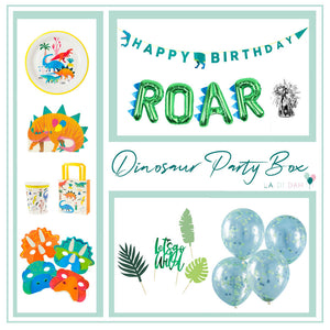 Dinosaur Party Box