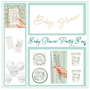 Baby Shower Party Box