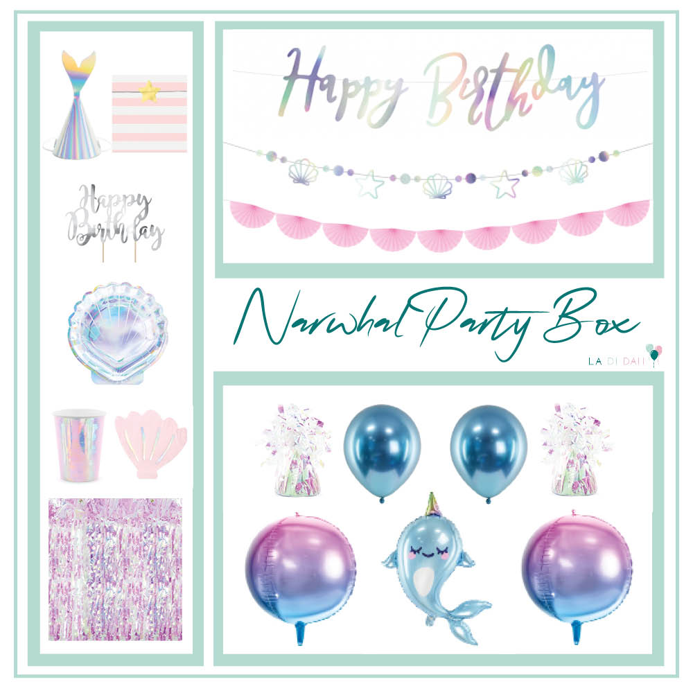 Narwhal Party Box