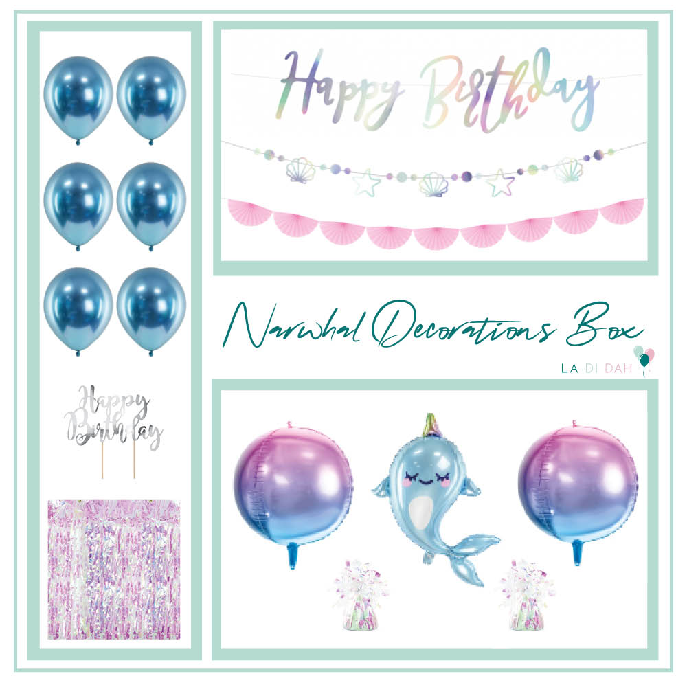 Narwhal Decorations Box