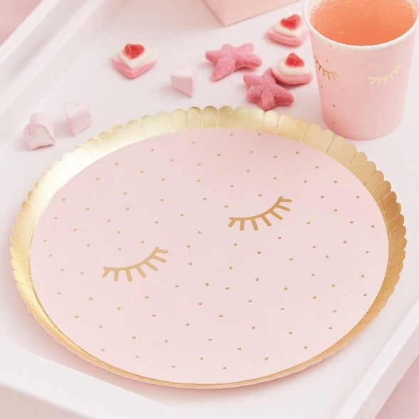 8 x Pamper plates & cups
