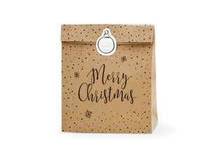 Kraft Christmas Gift Bag