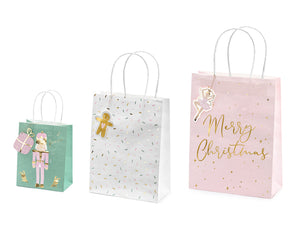 Set Of 3 Nutcracker Gift Bags