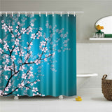 Home Decoration Waterproof Polyester Fabric Bath Screen Curtain