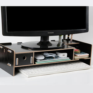 Wooden Monitor Laptop Stand Holder Riser