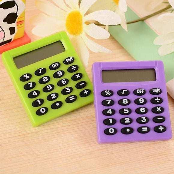 New Mini Electronic Calculator Candy 5 Colors