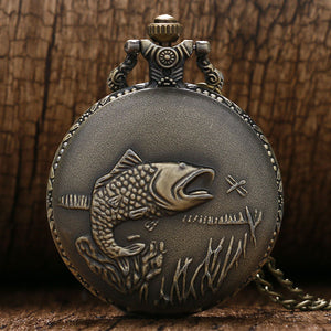 Fishing Vintage Pocket Watches