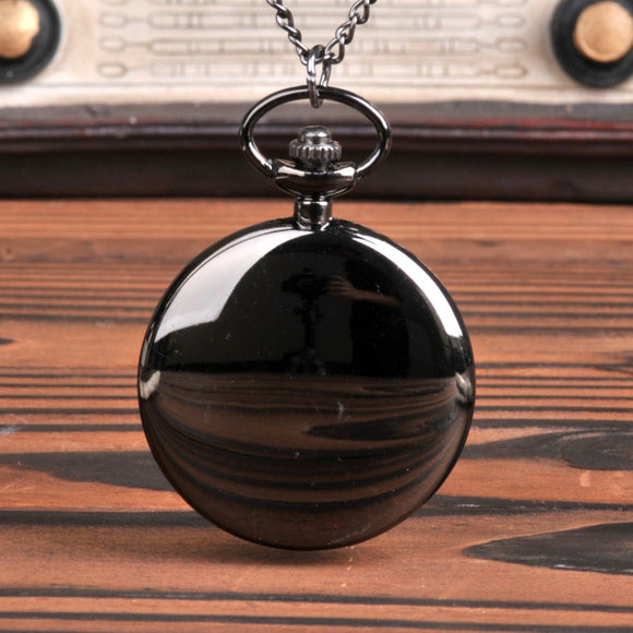 Fashion Retro Two-faced Pocket Watch