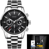 Men Watches LIGE Fashion Waterproof