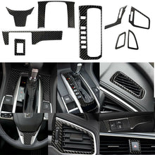Load image into Gallery viewer, Carbon Fiber Interior Kit Trim Cover Set 2016+ Honda Civic