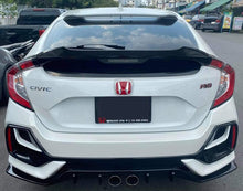 Load image into Gallery viewer, V3 Mid Wing Trunk Spoiler 2017+ Honda Civic Hatchback