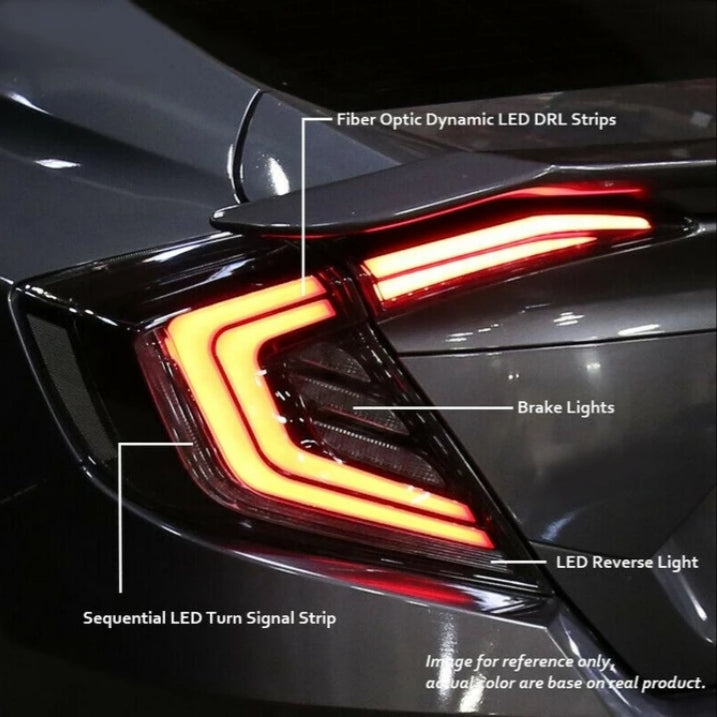 Primitive V1 LED Sequential Tail Light 2016+ Honda Civic