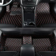 Load image into Gallery viewer, Premium Quality Custom Leather Diamond Car Floor Mats