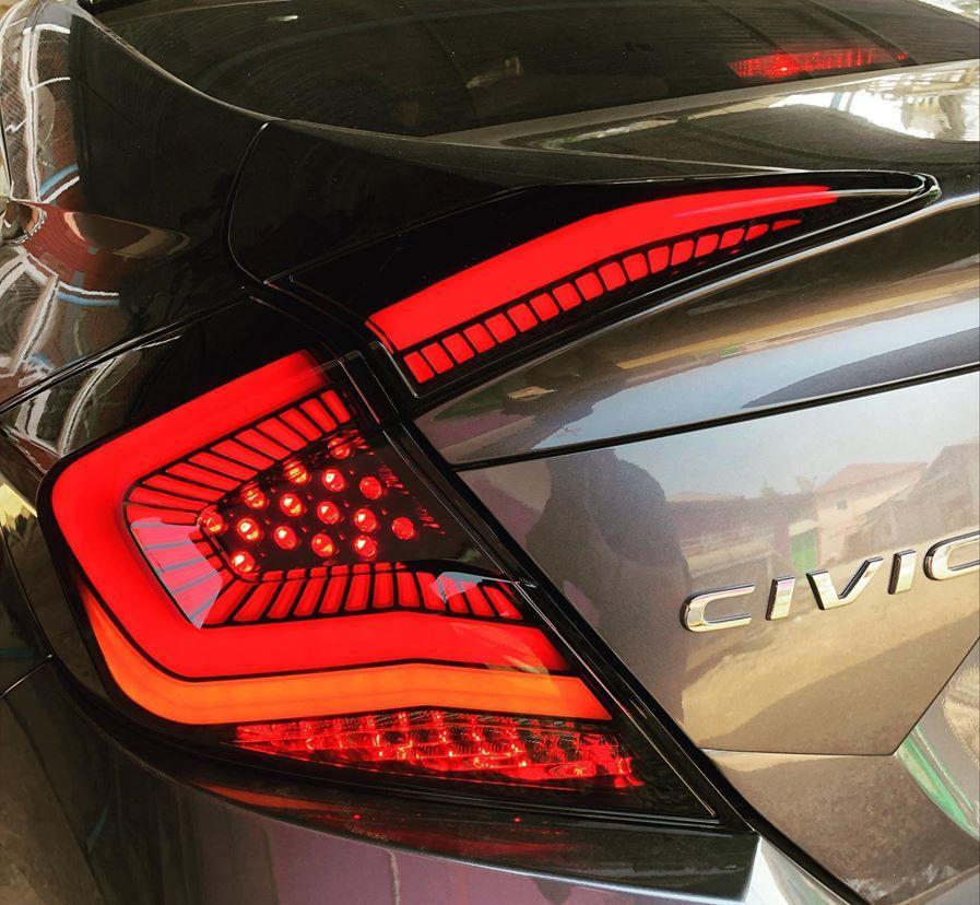 Primitive V2 LED Dynamic Tail Light 2016+ Honda Civic