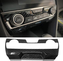 Load image into Gallery viewer, Carbon Fiber Center Console Panel Trim Cover 2016+ Honda Civic