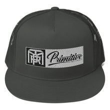 Load image into Gallery viewer, Box Monogram Primitive Snapback Hat - Black