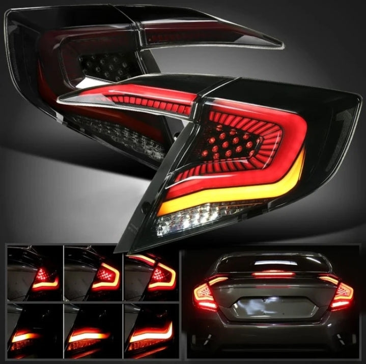 Primitive V2 LED Sequential Tail Light 2016+ Honda Civic