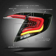 Load image into Gallery viewer, Primitive V2 LED Sequential Tail Light 2016+ Honda Civic