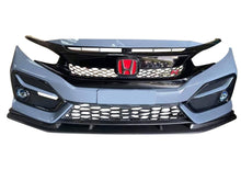 Load image into Gallery viewer, V2 Carbon Fiber Front Bumper Lip 2017+ Honda Civic
