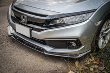 Load image into Gallery viewer, V6 Carbon Fiber Front Bumper Lip 2016+ Honda Civic