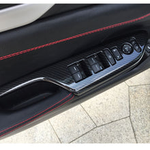 Load image into Gallery viewer, Carbon Fiber Window Switch Button Cover 2016+ Honda Civic