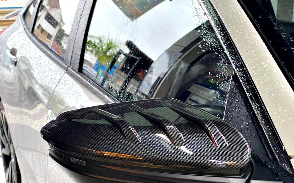Carbon Fiber Mugen Style Side Mirror Cover 2016+ Honda Civic