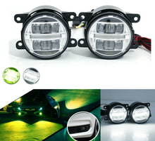 Load image into Gallery viewer, White/Yellow Dual Color LED Fog Light Kit 2016+ Honda Civic