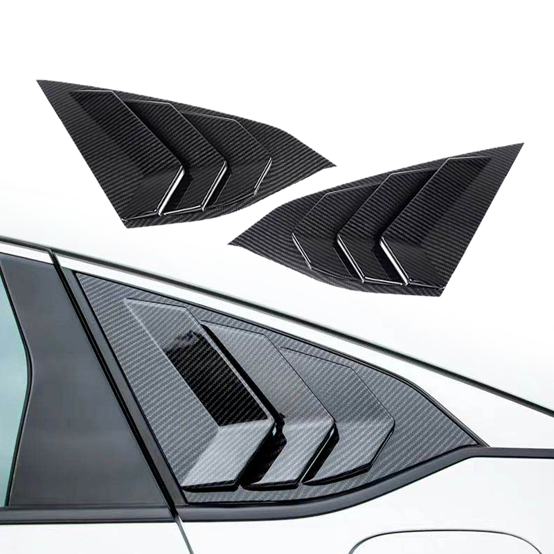 2018 Honda Accord OE Factory Type Side Quarter Window Louver Carbon Fiber