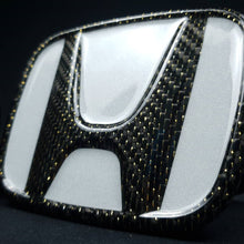 Load image into Gallery viewer, CARBON FIBER HONDA EMBLEM BADGE 2016+ HONDA CIVIC