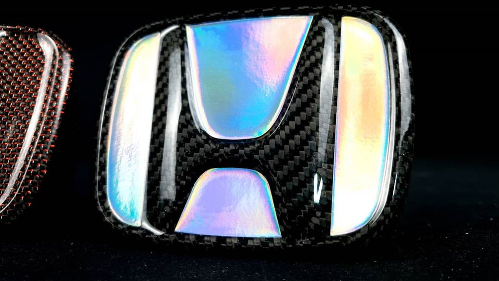 Carbon Fiber Honda Emblem Badge 2016+ Honda Civic