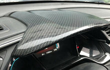 Load image into Gallery viewer, Carbon Fiber Centre Dashboard Panel Trim Cover 2016+ Honda Civic